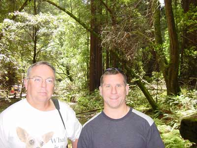 Dave and Jim in Muir Woods